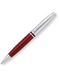 Шариковая ручка Cross Calais серебристый/красный Mblack (AT0112-8)