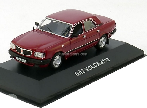 GAZ-3110 Volga dark red 1997 IST006 IST Models 1:43