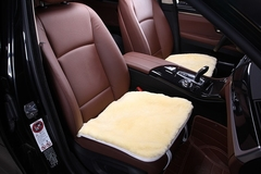 Подушка на сиденье из искусственного меха (короткий ворс)