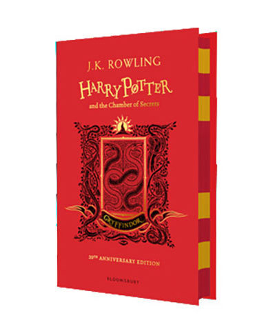 9781408898093 - Harry Potter and the Chamber of Secrets – Gryffindor Edition