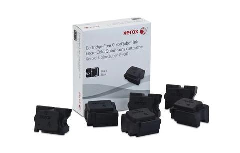 Чернила Xerox 108R01025, черные (6шт)