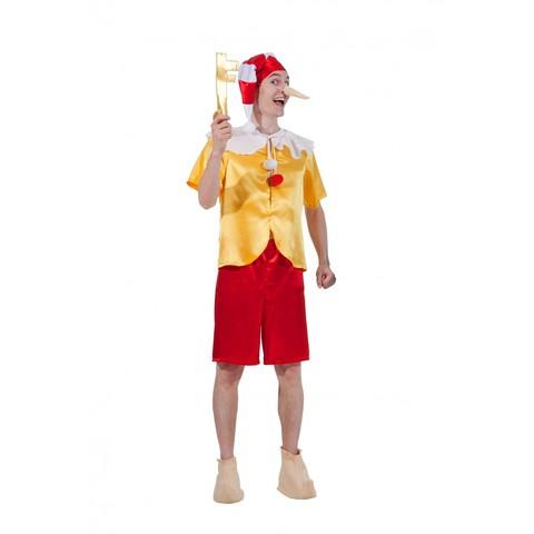 Карнавальный костюм  взрослый Буратино