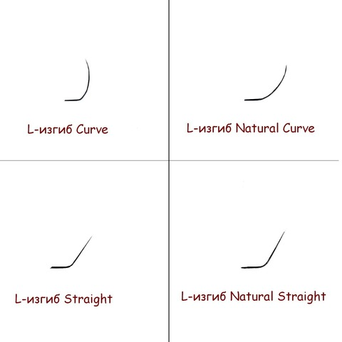 Ресницы NEICHA нейша 16 линий L-изгиб Natural Curve (отдельные длины)