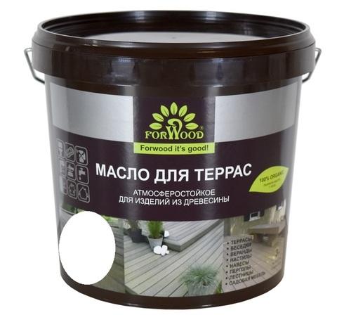 Forwood масло для террас содержащее воск 1л  вд-пф 1601T цвет орех