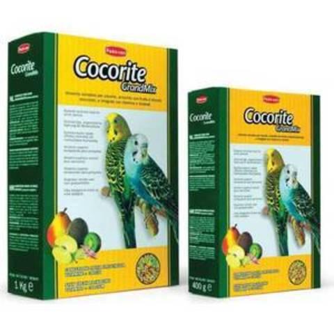 Padovan Корм GRANDMIX Cocorite комплексный/основной для волнистых попугаев 1кг