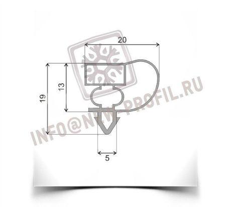Уплотнитель для холодильного шкафа Интер 501 КШ 370 (стеклянная дверь) 1660*540мм(004)