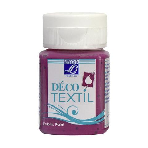 Краска по ткани Lefranc&Bourgeois DECO TEXTIL 50 мл 315, интенсивный малиновый