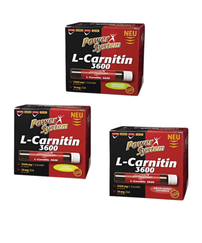 L-карнитин 3600 мг (лемонграсс), АМПУЛЫ Пауэр Систем