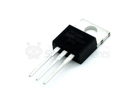 Полевой транзистор MOSFET IRF530 c N-каналом