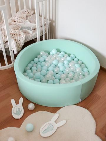 Сухой бассейн Anlipool 100/30см мятный комплект №72 Mint mousse