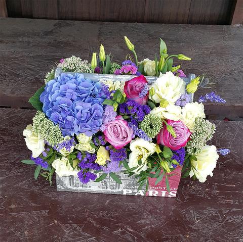 Ящик с цветами Экзотика 5