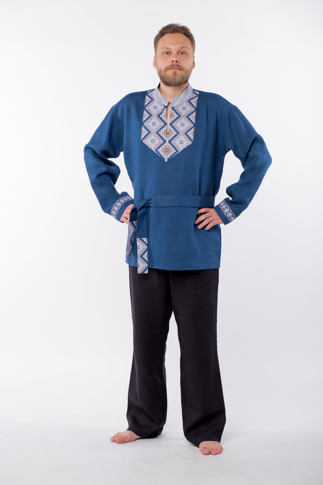 Рубаха мужская Алтайская