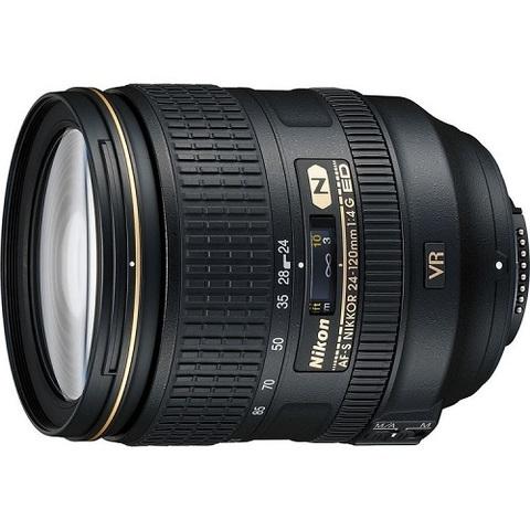Объектив Nikkor AF-S 24-120mm f/4G ED VR Black для Nikon