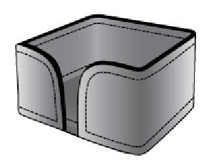 Схема для лотка для блока бумаг.