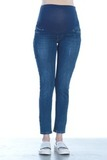Джинсы для беременных (SLIM) 07416 синий