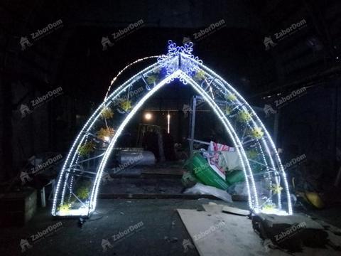 Световая фигура арка Новогодняя
