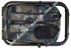 Складной стул - рюкзак с термосумкой миллитари