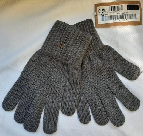 Перчатки трикотажные LOTTO RIB GLOVE TOD Q1216 серые