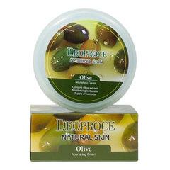 Deoproce Natural Skin Olive Nourishing Cream - Питательный крем для лица и тела с маслом оливы