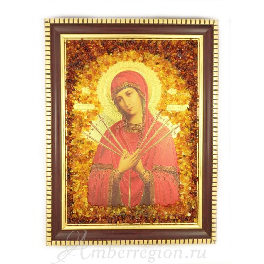 Семистрельная икона Божией Матери.