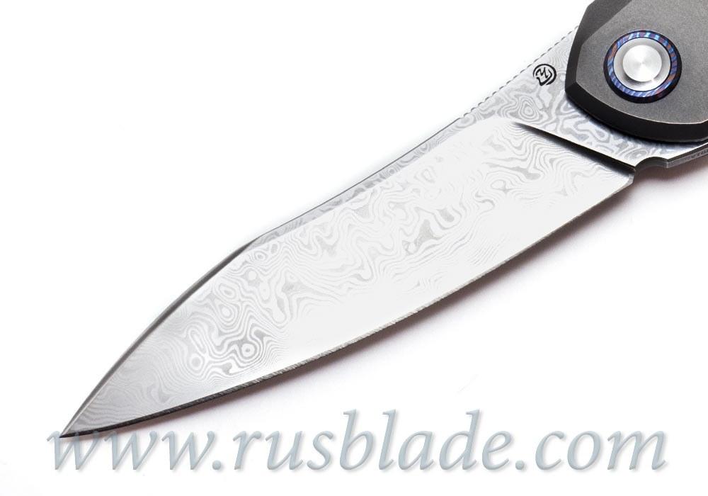 Cheburkov Russkiy Damascus Timascus clip