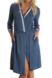 Женский халат из вискозы B&B