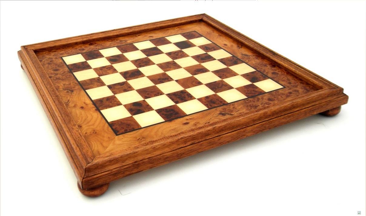 Шахматная доска бриар из вяза