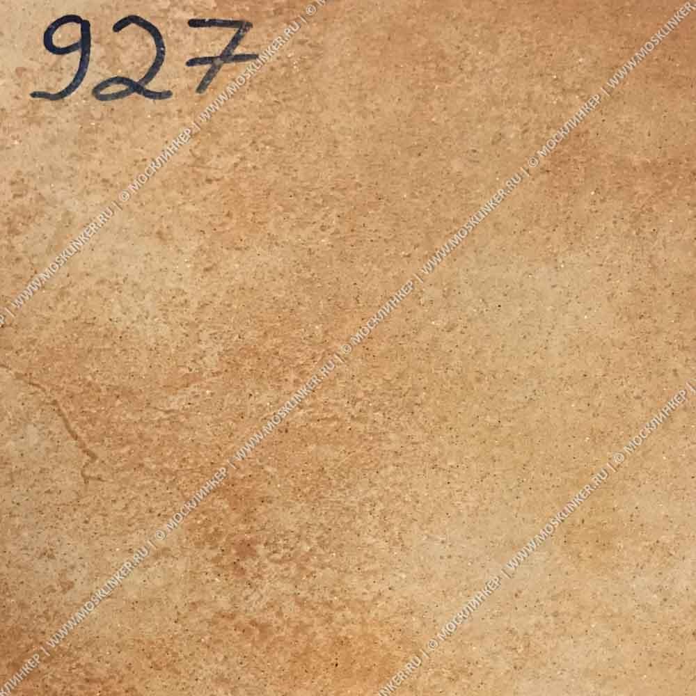 Stroeher - Keraplatte Roccia X 927 rosenglut 294х294х10 артикул 8031 - Клинкерная напольная плитка