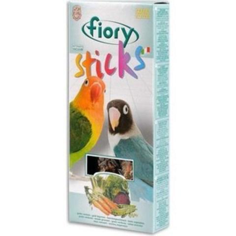 FIORY палочки для средних попугаев Sticks с овощами 2х60 г