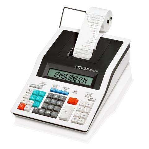 Калькулятор с печатью Citizen 350 DPA