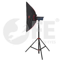 Софтбокс с сотовой насадкой для студийного света  Falcon Eyes SBQ-80100 BW