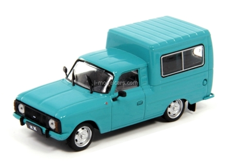 IZH-27156 blue-green 1:43 DeAgostini Auto Legends USSR Best #14