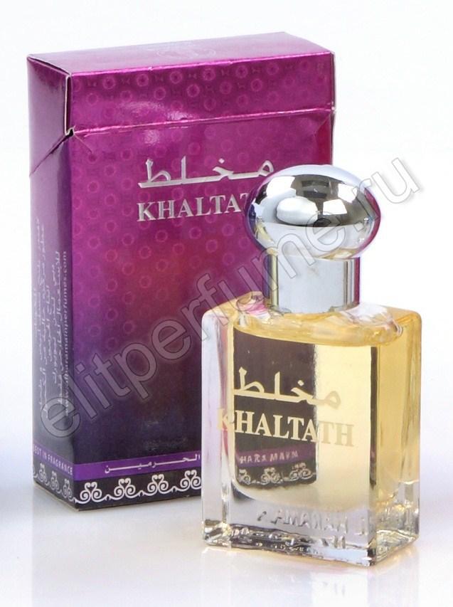 Пробники для духов Haramain Mukhallath (Бывшее название Khaltath / Хальтат) 1 мл арабские масляные духи от Аль Харамайн Al Haramin Perfumes