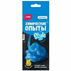 Kimyəvi Təcrübələr Lori Style Slime mavi