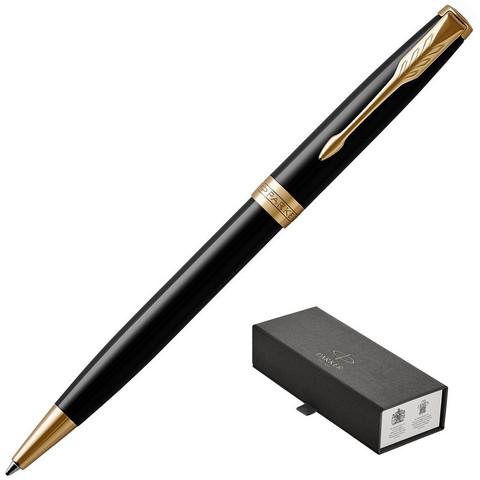 Ручка шариковая Parker Sonnet GT цвет чернил черный цвет корпуса черный (артикул производителя 1931497)