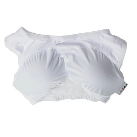 Защита груди пластиковая с раздельными вставками.