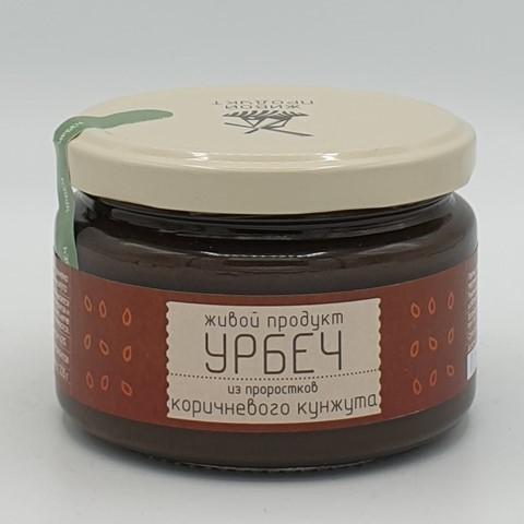 Урбеч из проростков семян коричневого кунжута ЖИВОЙ ПРОДУКТ, 225 гр