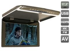Автомобильный потолочный монитор AVIS Electronics AVS1750MPP (тёмно-серый)