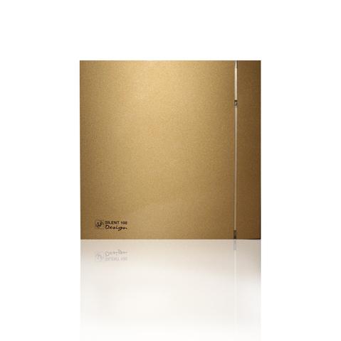 Накладной вентилятор Soler & Palau SILENT-100 CRZ DESIGN-4С GOLD (таймер)