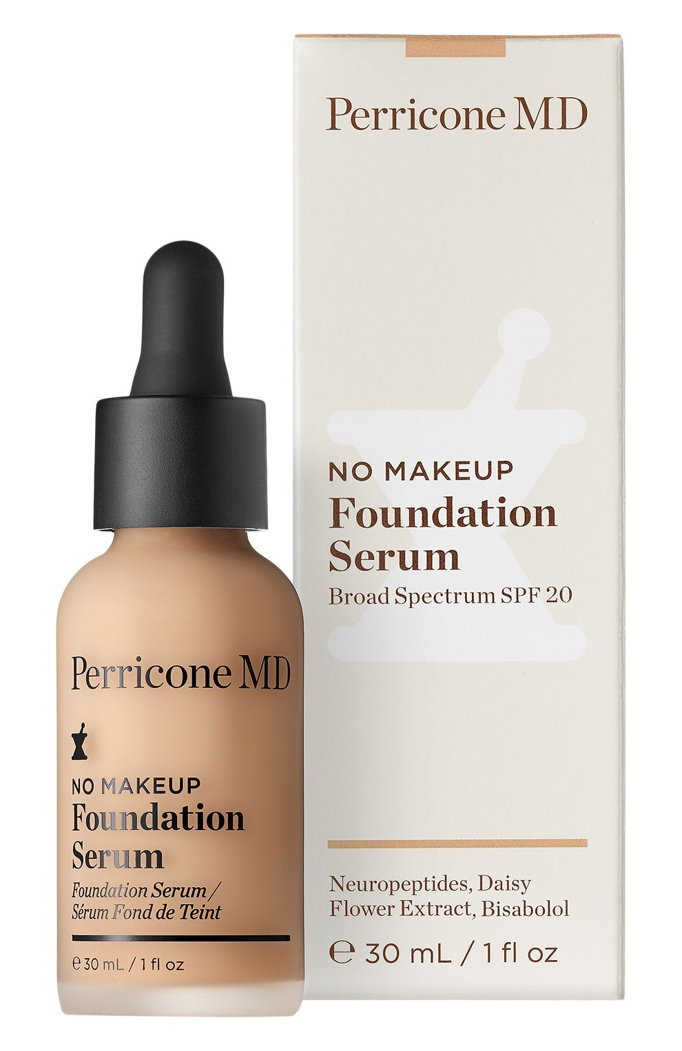 Тон Perricone MD No Makeup Foundation Serum SPF 20 Porcelain 30 мл