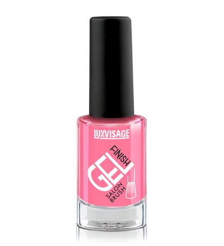 LuxVisage Gel Finish Лак для ногтей тон 04 (ярко-розовый) 9г