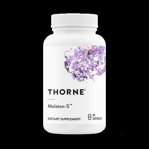 Thorne Research, Melaton-5™, 60 капсул