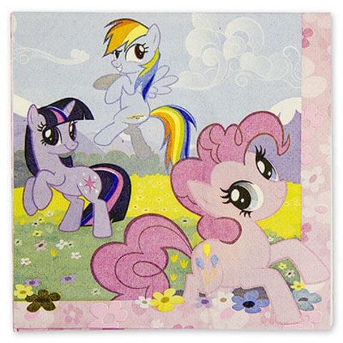 Салфетка My Little Pony 33см 16 шт