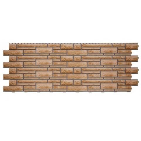 Фасадные панели (Цокольный Сайдинг) Доломит NEW Миндаль