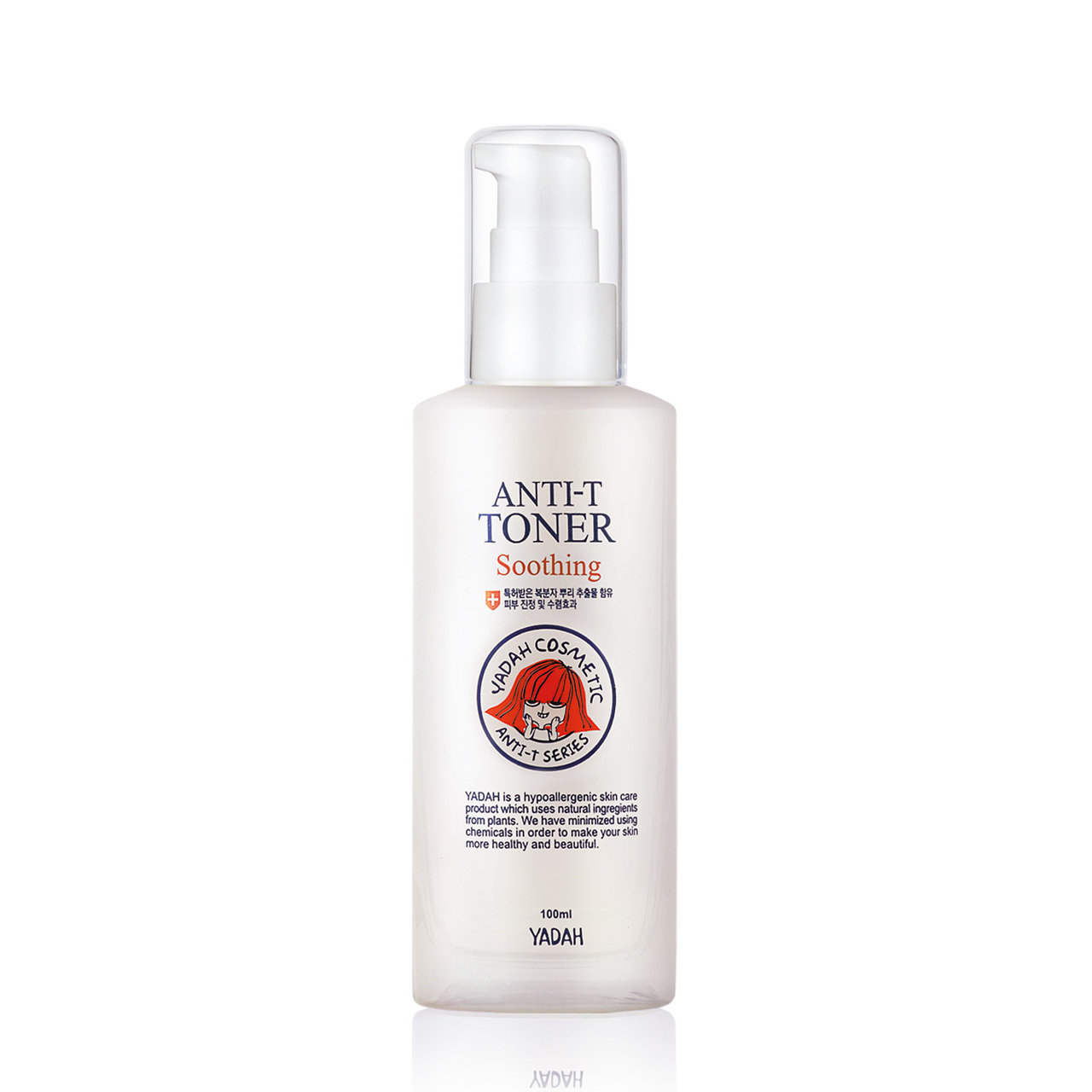 Тонер Yadah Anti-T Toner Soothing 100 мл