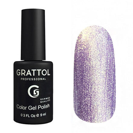 Гель-лак GRATTOL 157 Lilac Golden Pearl 9мл