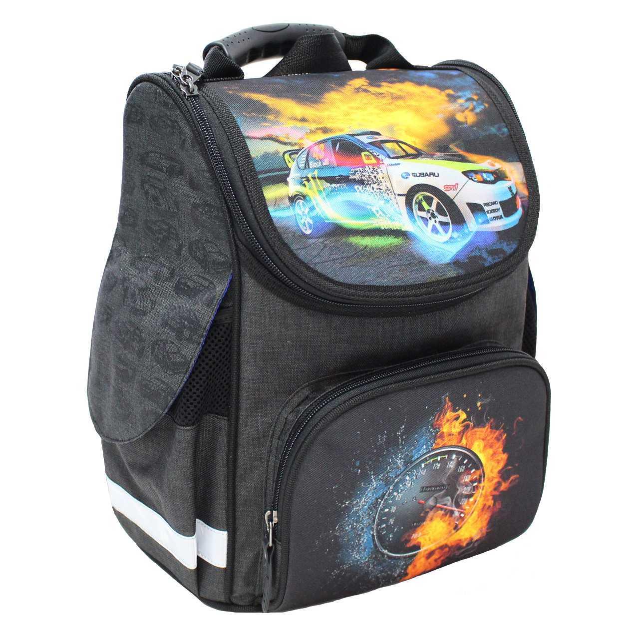 Школьные рюкзаки Рюкзак школьный каркасный Bagland Успех 12 л. чорний 18 м (00551692) IMG_4808.jpg