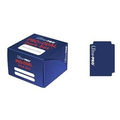 Dual Standard Deck Box Blue (UP)