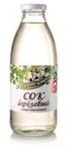 Белорусский сок березовый 0,75л. Хозяин Барин - купить с доставкой на дом по Москве и всей России