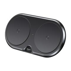 Беспроводное зарядное Baseus Dual Wireless Charger Black